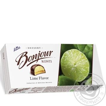 Десерт Konti Bonjour Лайм 232г - купить, цены на СитиМаркет - фото 4
