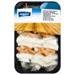 Шашлик з морепродуктів Aligator (кальмар+креветки) свіжоморожений 270г