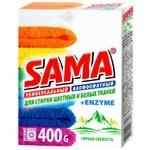 Порошок пральний SAMA Гірська свіжість автомат безфосфатний 400г