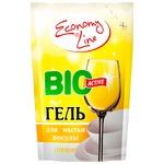 Economy Line Lemon Dishwashing Gel 450g