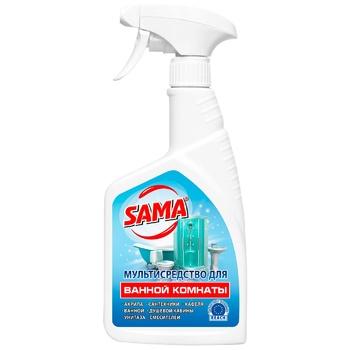 Засіб SAMA миючий для ванної кімнати 500мл - купити, ціни на Ашан - фото 1