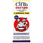 Соль Козаченьки Экстра кухонная пищевая йодированная 500г