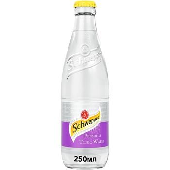 Напиток Schweppes Premium Tonic Water сильногазированный безалкогольный 0,25л