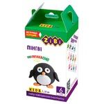Набір ZiBi повітряного пластиліну для ліплення Пінгвін