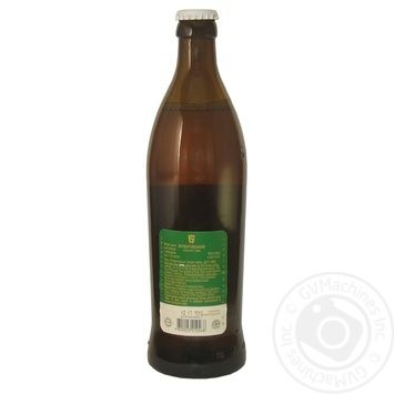 Пиво Бердичівське Лагер живе світле непастеризоване 3.8%об. 500мл - купити, ціни на Novus - фото 2