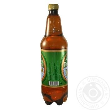 Пиво Бердичевское Жигулевское живое светлое 3.7%об. 1л - купить, цены на Novus - фото 3