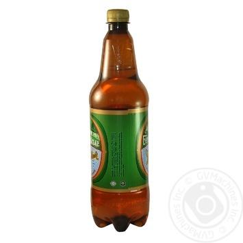 Пиво Бердичевское Жигулевское живое светлое 3.7%об. 1л - купить, цены на Novus - фото 2