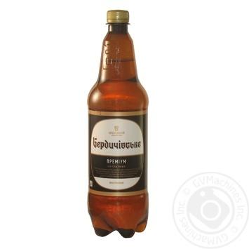 Berdychivske Premium light beer 4.3% 1l - buy, prices for Novus - image 1