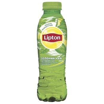 Холодный зеленый чай Lipton 0,5л - купить, цены на Ашан - фото 1