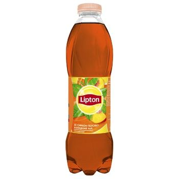 Lipton black ice tea with peach 1l - buy, prices for CityMarket - photo 1