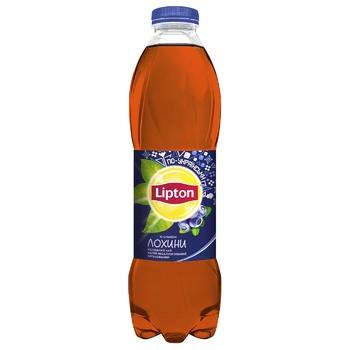 Чай черный холодный Lipton со вкусом голубики 1л - купить, цены на Ашан - фото 1