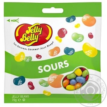 Jelly Belly with acid candy 70g - buy, prices for MegaMarket - image 1