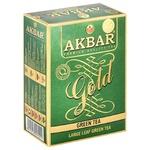 Чай Akbar Green Gold зеленый среднелистовой 100г
