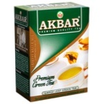 Чай Akbar зелений крупнолистовий 100г