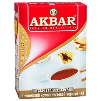 Black tea Akbar Ceylon Favorite large leaf 100g