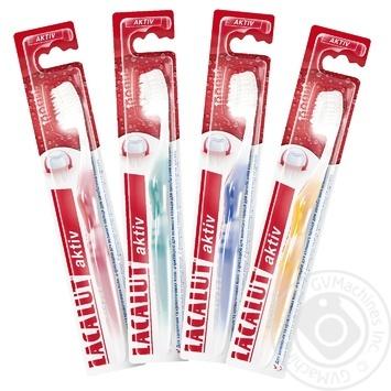 Зубна щітка Лакалут Актив шт - купити, ціни на Восторг - фото 1