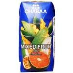 Сок Chabaa Red & White фруктовый микс 180мл