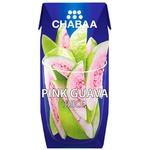 Сок Chabaa Розовая гуава 180мл