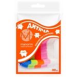 Manorm Children's Dental Floss Toothpick 30pcs
