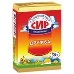 Сыр Белоцерковский Дружба плавленый ломтевой 50% 90г Украина