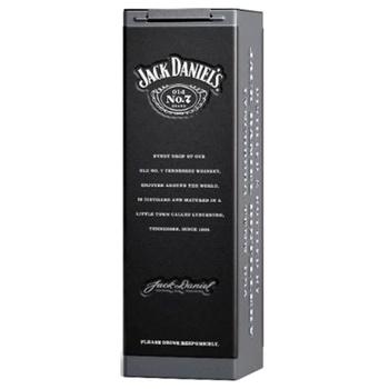 Виски Jack Daniel's Old No. 7 40% 0,7л в металлической коробке - купить, цены на Novus - фото 3