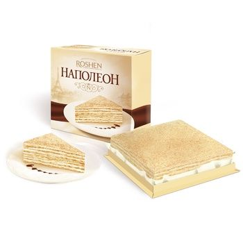 Торт Roshen Наполеон 1кг - купити, ціни на Novus - фото 1