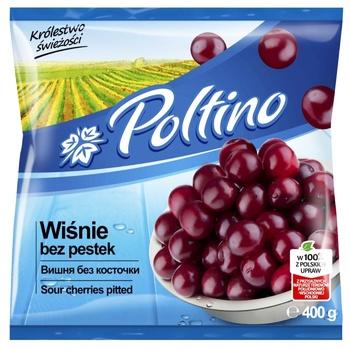 Вишня Poltino без косточки быстрозамороженная 400г - купить, цены на МегаМаркет - фото 1