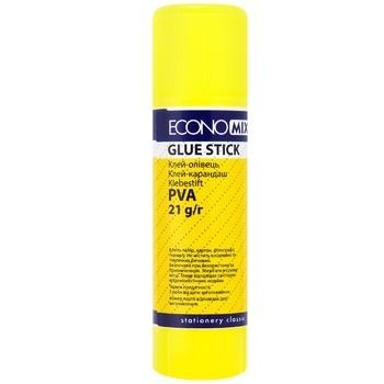 EconoMix Glue pencil PVA 21g - buy, prices for Metro - photo 1