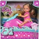 Simba Evi Love Jet Boat Doll Set