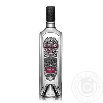 Kozaцьka Rada Classic Vodka 40% 1l - buy, prices for Furshet - image 1