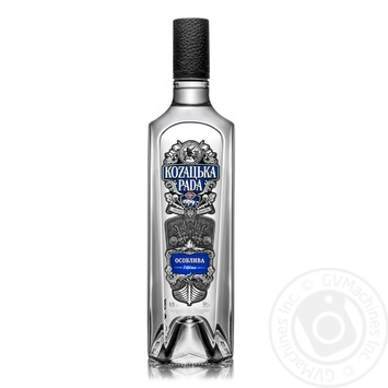 Kozaцьka Rada Special Vodka 40% 0,7l - buy, prices for Novus - image 1