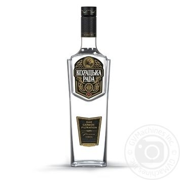 Kozaцьka Rada Premium Vodka 40% 0,7l - buy, prices for Novus - image 1
