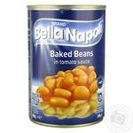 Фасоль Bella Napoli запеченная в томатном соусе 400г