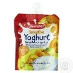 Puree Semper banana for children from 6 months 90g doypack