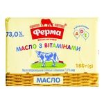 Масло солодковершкове Ферма Для дітей 73% 200г - купити, ціни на Восторг - фото 2
