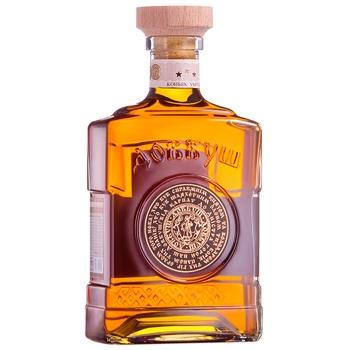 Dovbush Carpathian Cognac 3 stars 40% 0,5l - buy, prices for CityMarket - photo 2
