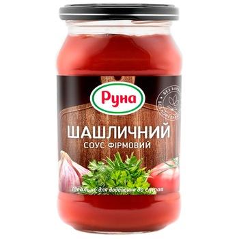 Соус томатный Руна Шашлычный фирменный 485г