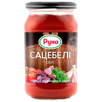 Соус томатный Руна Сацебели 485г