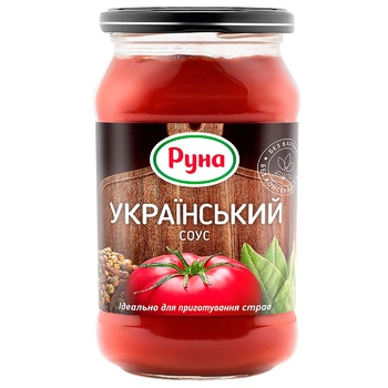 Соус томатный Руна Украинский 485г