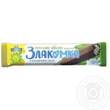 Khladik Zlakomka Aromatic Oats In Confectionery Glaze Ice-Cream 75g - buy, prices for CityMarket - photo 1
