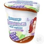 Smachnenka Dashenka Cottage Cheese with Raisins and Glaze 8% 180g