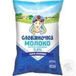Молоко Словяночка пастеризованное 2.5% 870г