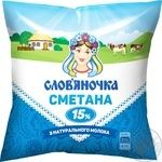 Slovianochka Sour Cream 15% 380g