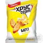 HrusTeam Baguette Rusks With Four Cheeses Flavor 60g