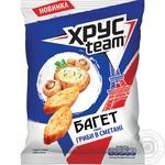 Сухарики Хрусteam Багет со вкусом грибов в сметане 60г
