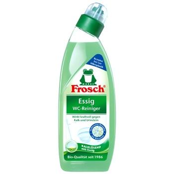 Чистящее средство Frosch Уксус для унитазов 750мл - купить, цены на Ашан - фото 1