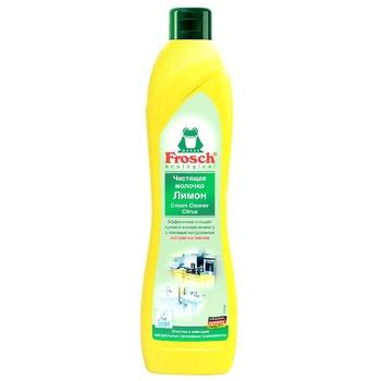 Чистящее молочко Frosch Лимон 0,5л