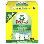 Пральний порошок-концентрат Фрош Ультра Цитрус для білих речей для всіх типів прання 1350г