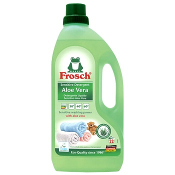 Frosh Aloe Vera Washing Gel for Colored Linen 1,5l - buy, prices for CityMarket - photo 1
