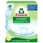 Frosch Dishwashing pills Lemon 50pcs 20g